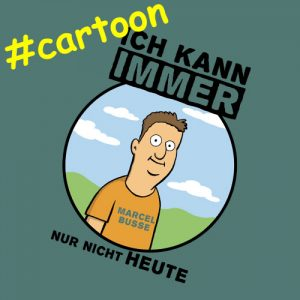 Marcel Busse - Comedy live erleben - Cartoon-Serie